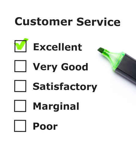What is Excellent Customer Service Survey