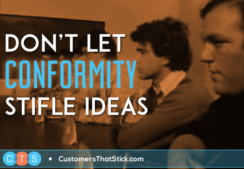 Don't Let Conformity Stifle Ideas | Asch Conformity Experiment