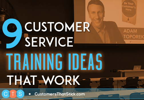 9 Customer Service Training Ideas That Work